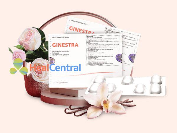 Viên đặt phụ khoa Ginestra - hỗ trợ diệt khuẩn âm đạo