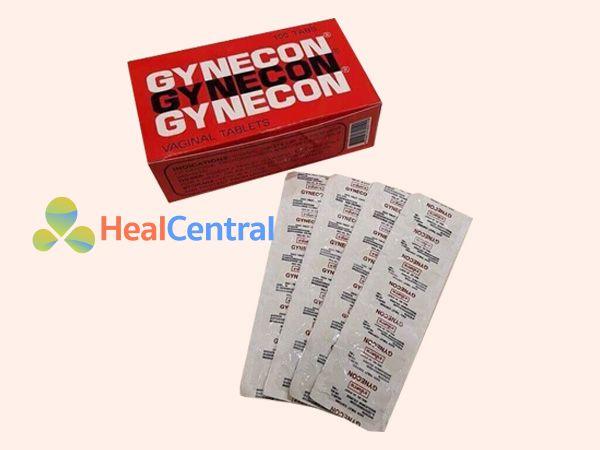 Hình ảnh vỉ thuốc Gynecon