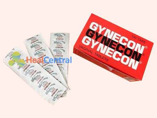Gynecon - điều trị viêm nhiễm phụ khoa