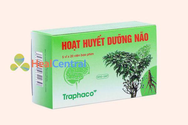 Hoạt huyết dưỡng não Traphaco 20 viên x 5 vỉ