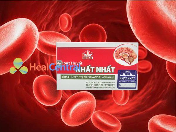 Hình ảnh Hoạt Huyết Nhất Nhất giúp tăng cường lưu thông máu