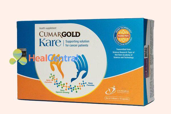 Hộp thuốc CumarGold Kare