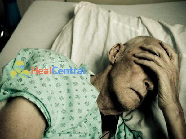 Hình ảnh bệnh nhân tăng lactate