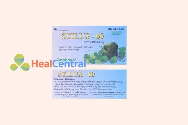 Liều dùng Stilux 60