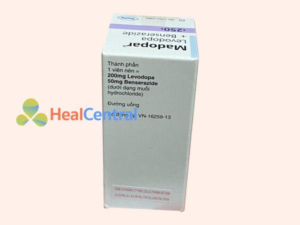 Thuốc Madopar điều trị Parkinson