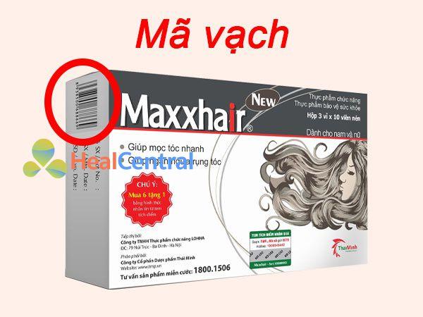 Mã vạch sản phẩm Maxxhair