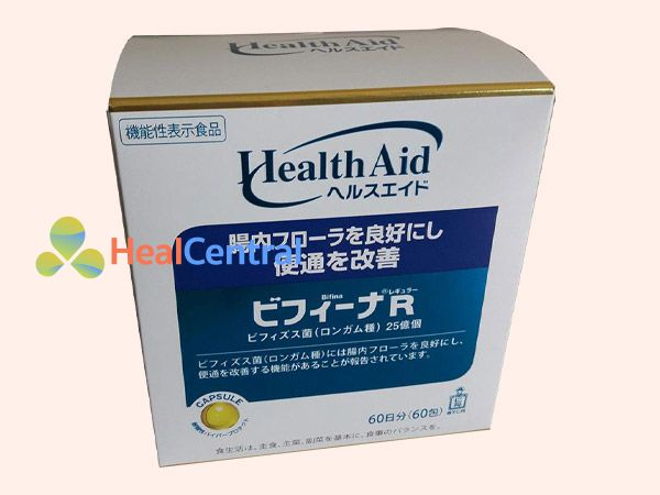 Men vi sinh Bifina được sản xuất bằng công nghệ Nhật Bản