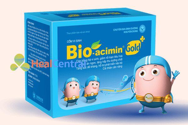 Men vi sinh giúp tăng tỉ lệ vi khuẩn tốt trong hệ tiêu hóa