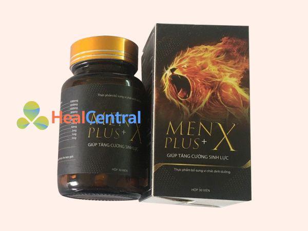Hình ảnh hộp Menx plus