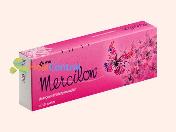 Hình ảnh hộp thuốc Mercilon