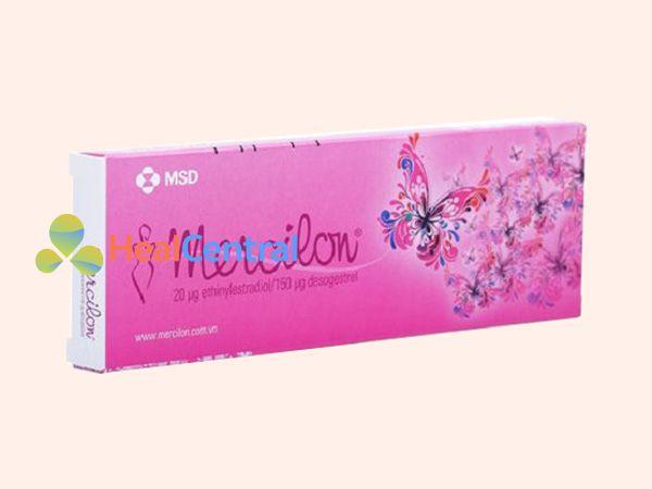 Thuốc Mercilon - thuốc tránh thai hàng ngày
