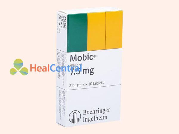 Hình ảnh thuốc Mobic 7.5mg dạng hộp