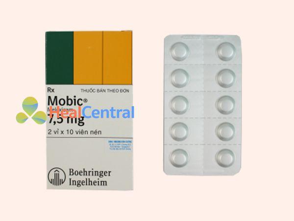 Hình ảnh thuốc Mobic 7.5mg mặt trước