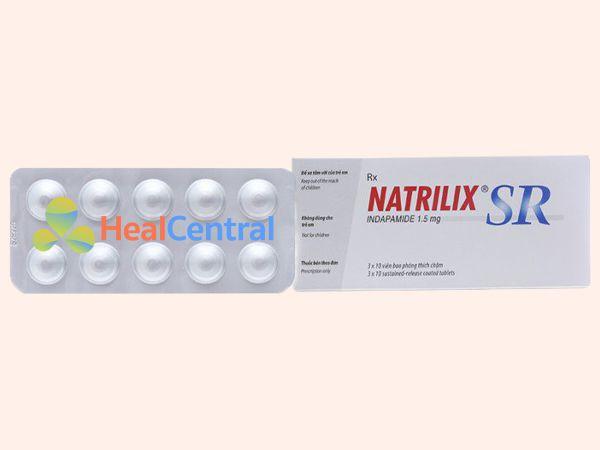 Hình ảnh thuốc Natrilix SR giúp hạ huyết áp hiệu quả