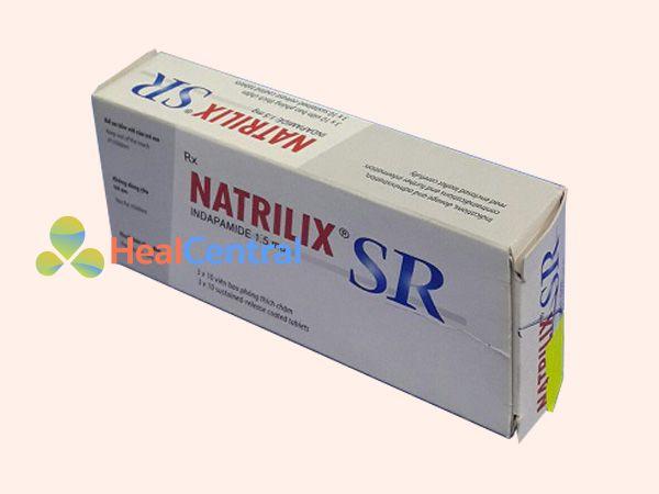 Hình ảnh dạng hộp thuốc Natrilix SR