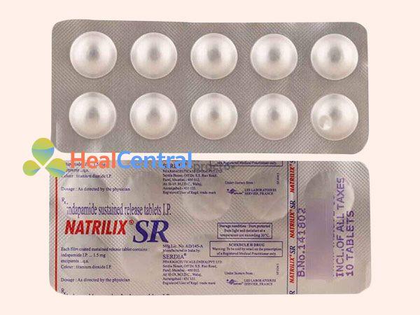 Hình ảnh thuốc Natrilix SR dạng viên