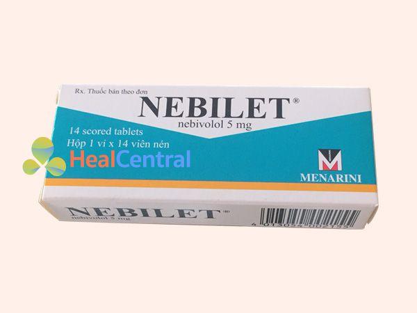 Hình ảnh hộp thuốc Nebilet