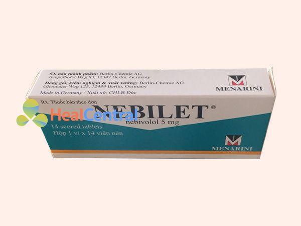 Thuốc Nebilet chứa thành phần Nebivolol