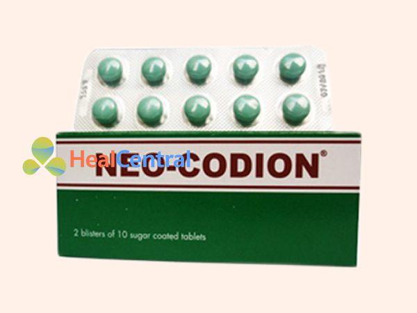 Hình ảnh thuốc Neo Codion mặt trước