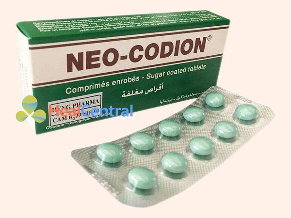 Thuốc Neo Codion dùng theo đường uống