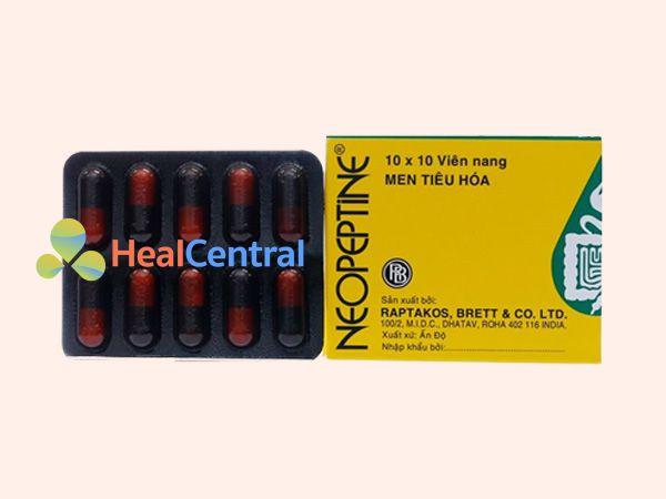 Thuốc Neopeptine dạng viên nang cứng