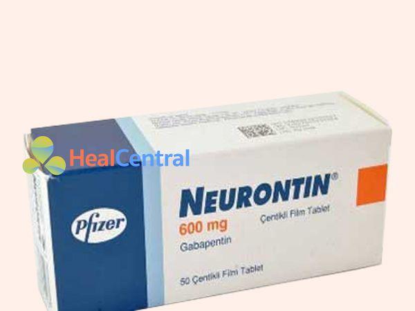 Hình ảnh Thuốc Neurontin 600mg