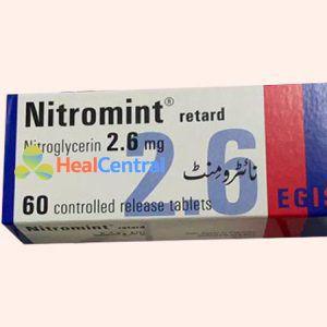 Thuốc Nitromint Retard là dạng giải phóng kéo dài