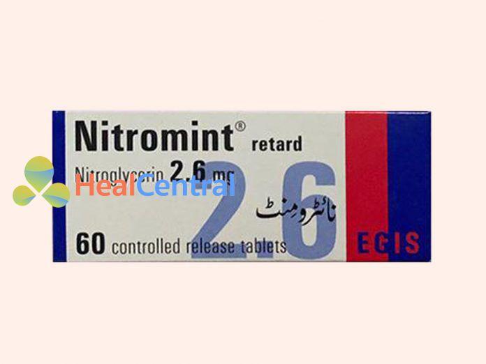 Hình ảnh: Thuốc Nitromint hộp 60 viên