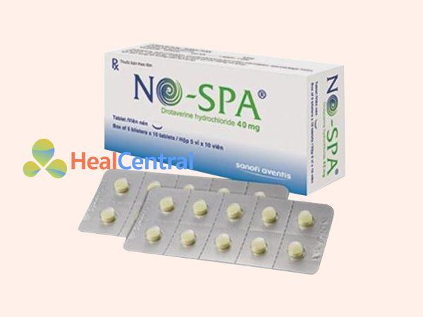 Hình ảnh hộp thuốc Nospa