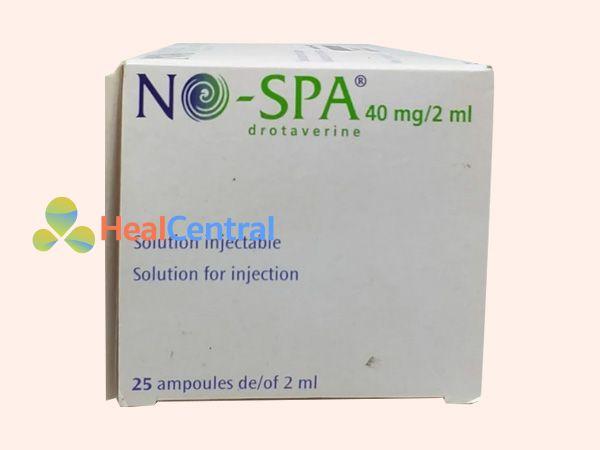 Thuốc Nospa dạng dung dịch tiêm