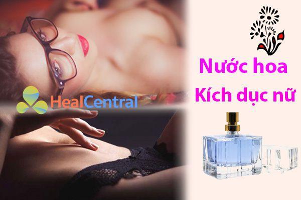 Các loại nước hoa kích dục nữ