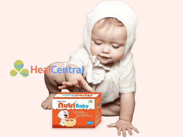Hình ảnh Cốm vi sinh Nutribaby giúp trẻ ăn ngon hơn