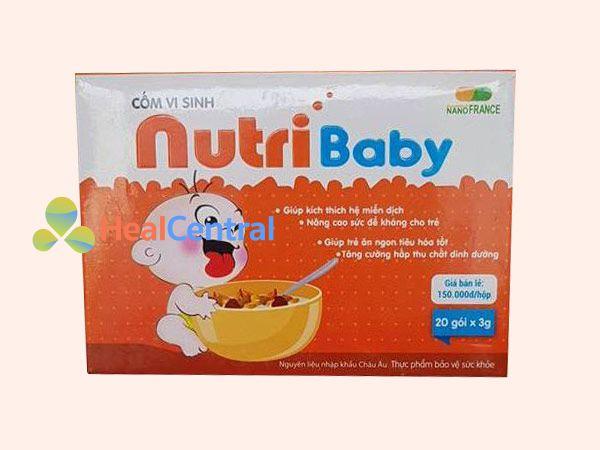 Hình ảnh Cốm vi sinh Nutribaby mặt trước