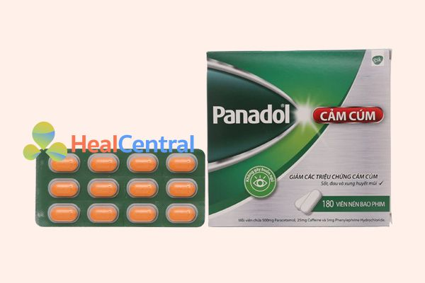 Thuốc Panadol cảm cúm