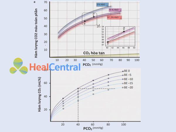 Đường cong phân ly CO2.