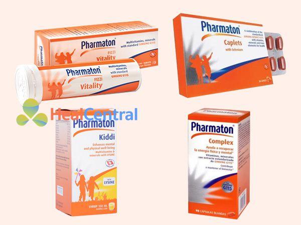 Các dạng bào chế của thuốc Pharmaton
