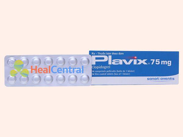 Hình ảnh vỉ thuốc Plavix