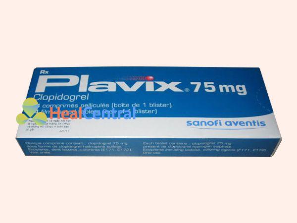 Thuốc Plavix - điều trị tình trạng kết tập tiểu cầu
