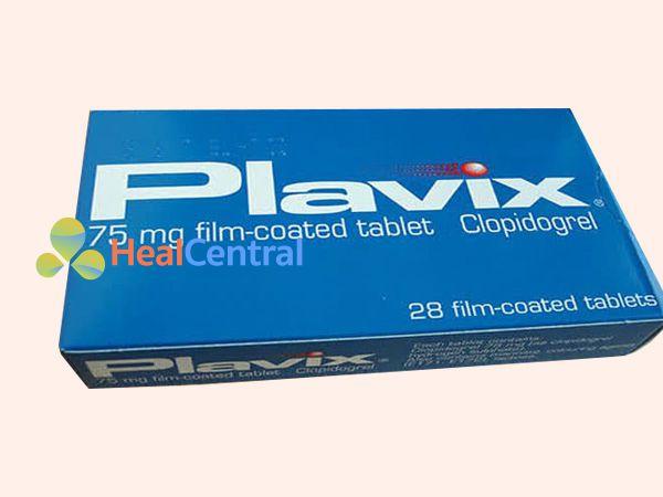 Hình ảnh hộp thuốc Plavix