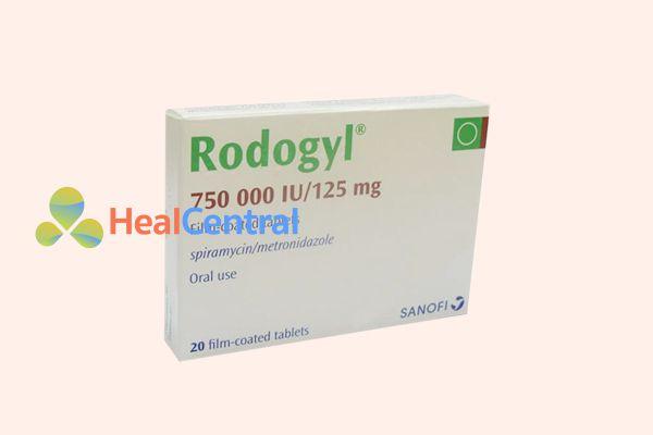 Rodogyl dùng trong điều trị các bệnh nhiễm trùng tại miệng