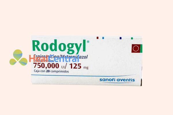 Tương tác thuốc của Rodogyl với các thuốc khác