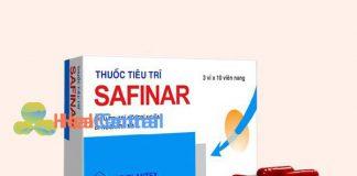 Safinar là thuốc có tác dụng giúp tiêu búi trĩ, điều trị bệnh trĩ cho bệnh nhân trĩ nội, trĩ ngoại, trĩ hỗn hợp.