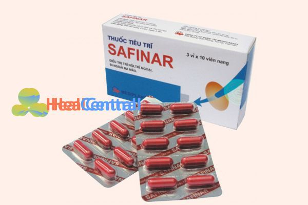 Safinar - Lựa chọn hàng đầu cho người bị bệnh trĩ