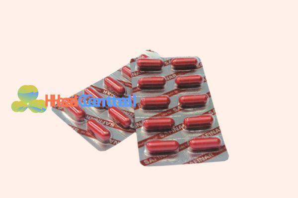Hình ảnh: Vỉ thuốc Safinar
