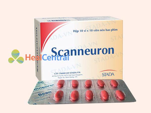 Hình ảnh thuốc Scanneuron mặt trước