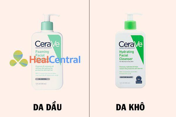Sữa rửa mặt CeraVe