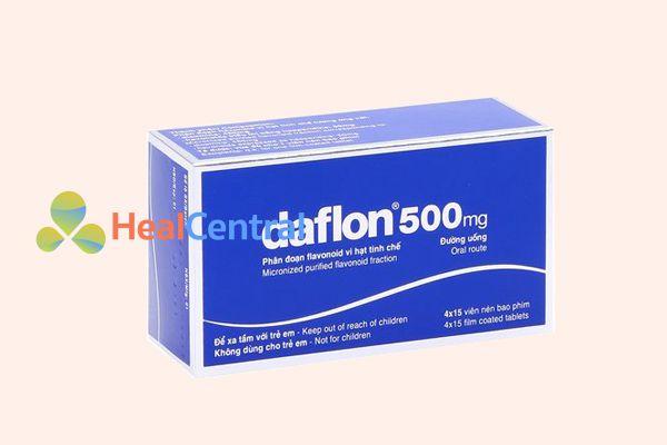 Thuốc Daflon 500mg giúp điều trị bệnh giãn tĩnh mạch rất hiệu quả