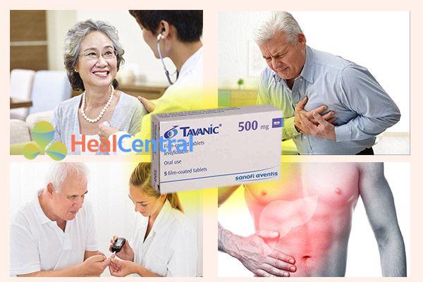 Các đối tượng cần lưu ý khi sử dụng thuốc Tavanic