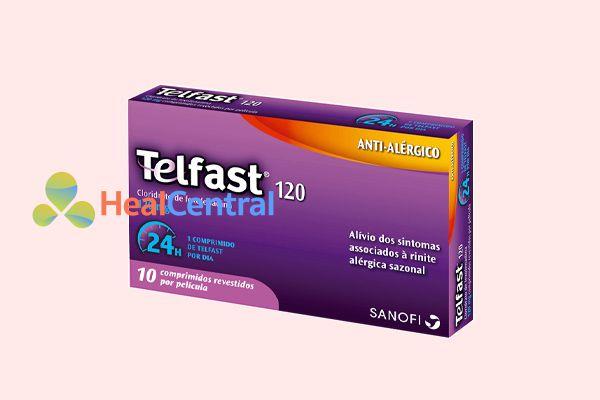 Thuốc chống dị ứng Telfast 120mg