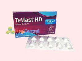 Thuốc chống dị ứng Telfast